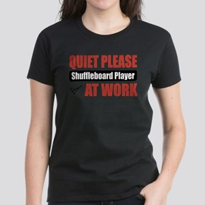 Shuffleboard Player Work T-Shirt